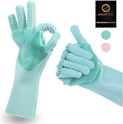 QualityZone Upgraded Silicone Dishwashing Scrubbing product image