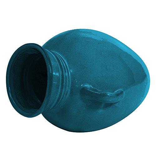 Ornament Pond Spitter (OASE 45450 Ceramic Turquoise Pouring Vase Spitter)