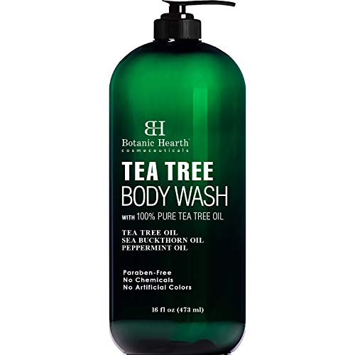 BOTANIC HEARTH Tea Tree Body Wash, Helps Nail...