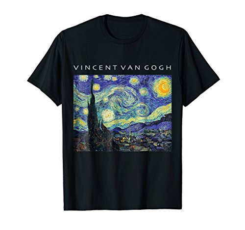Vincent Van Gogh Starry Night T-Shirt Painting Art Shirt