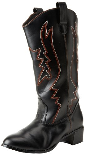 Funtasma by Pleaser Men's Cowboy 100 Boot,Black,L (Cowboy And Angel Costume)