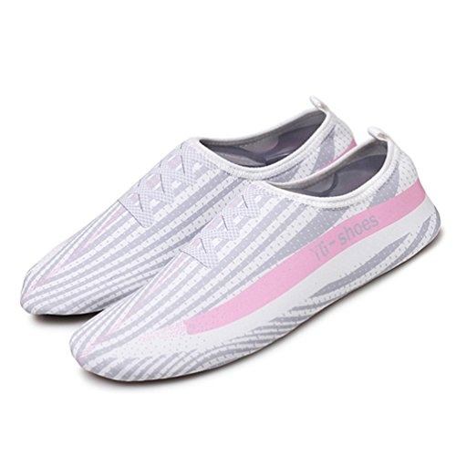 Unisex Zapatos Playa Natación Agua Aire Gris Aqua Zapatos Mujeres Libre Zapatos Plano al AYdwxxzqP