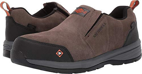 Merrell Work Men's Windoc Moc Steel Toe Boulder 11 M US