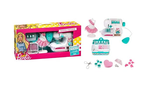 Amazon.es: Barbie Maszyna do szycia: Juguetes y juegos