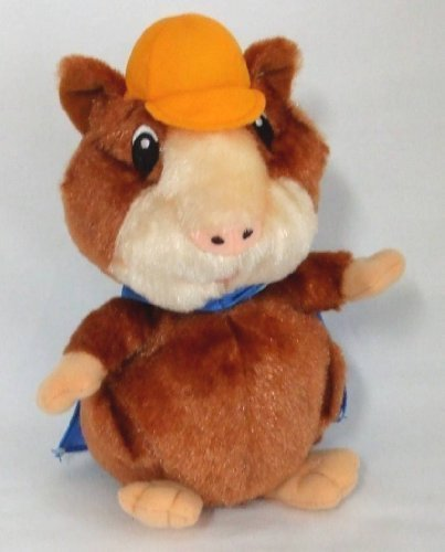 "Fisher Price Wonder Pets Linny Hamster Blue Cape Plush 9"" Tall"
