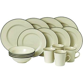 Royal Doulton 40012621 Union Street 16 Piece Dinnerware Set Cream  sc 1 st  Amazon.com & Amazon.com: Royal Doulton 40012621 Union Street 16 Piece Dinnerware ...
