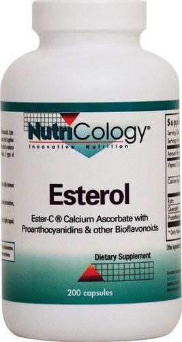NutriCology Esterol Ester-C -- 200 Capsules - 3PC by Nutricology