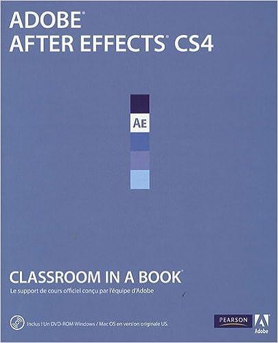 Livres gratuits After Effects CS4 pdf epub