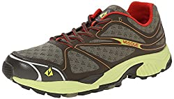 Vasque Men's Pendulum II Trail Running Shoe, Black/Blazing Yellow, 7 M US