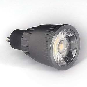 Ledtcx 9W GU10 700-750LM 6000-6500K Cool White Color Support Dimmable Led Cob Spot Light Lamp Bulb(110V)