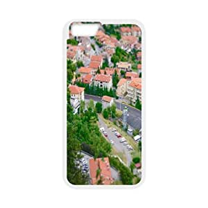 Iphone 6 Plus Case, tilt shift photography Case for Iphone 6 Plus 5.5 screen White tcj575153 tomchasejerry
