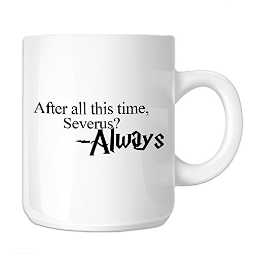After All This Time Always HP Severus Snape 11 oz. Novelty C