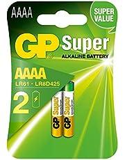 GP Super alkaline batterij Mini (AAAA / LR8D425 / LR61 / LR80425) 2 stuks in blister