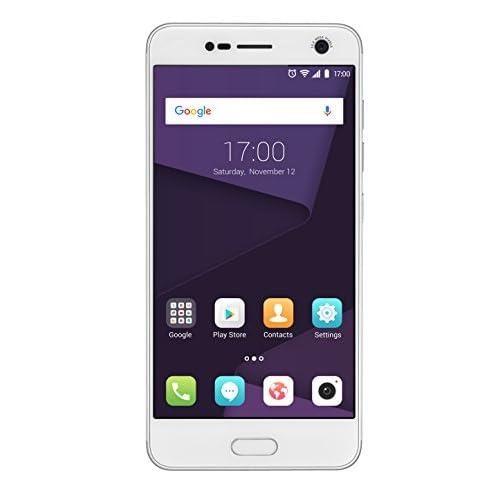 ZTE Blade V8 Smartphone Libre de 5 2 Dual SIM RAM de 3 GB Memoria Interna de 32 GB procesador Octa Core Color Plata