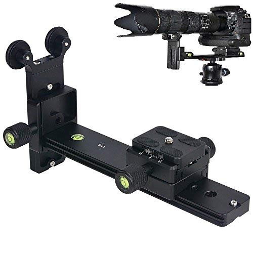 Runshuangyu L200 Telephoto Lens Support Bracket Quick Release Plate Long-Focus Stand Holder for Tripod DSLR Camera Photography Compatible for Arca-Swiss by Runshuangyu