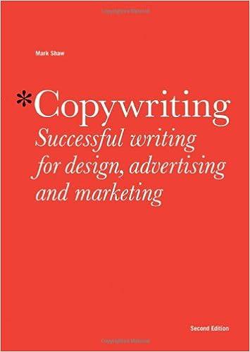Copywriting advertising