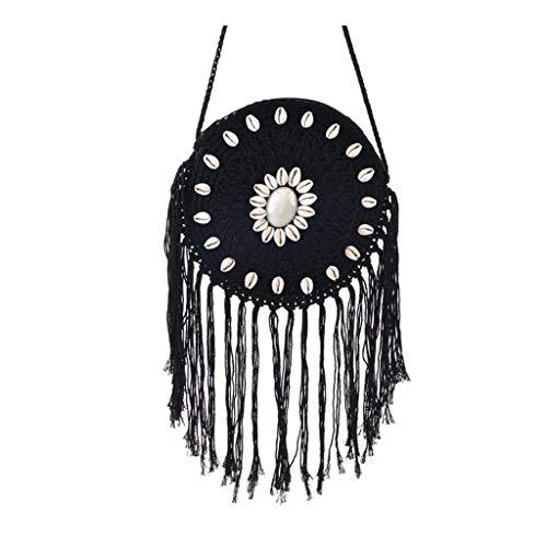 SUNyongsh Small bag Woman 2019 new tassel messenger bag Fashion Shoulder Bag Straw Bag