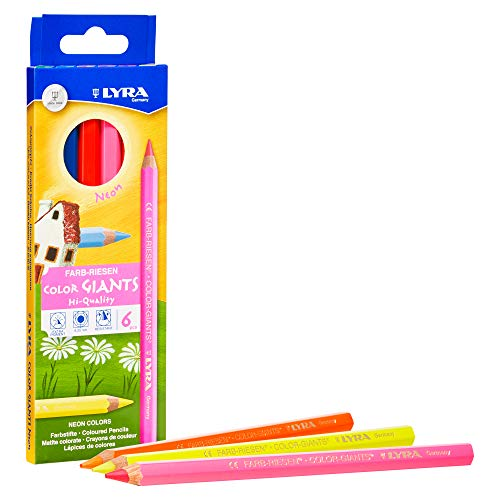 Lyra Colored Pencils, Assorted Colors, 6 Count (L3941063)
