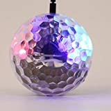 Kongqiabona Newest Funny Kids Gift Sensing Crystal Ball Induction Fly Ball Dazzle Colour Lights with Double Blister Packaging