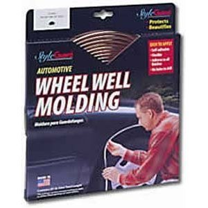 Wheel Well Molding - Universal - Chrome Wheel Well Molding: 5/8 inch - 18 feet ()