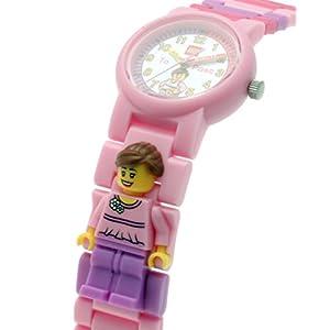 Lego Reloj, diseño Profesor de Tiempo, Color Rosa 9005039 5