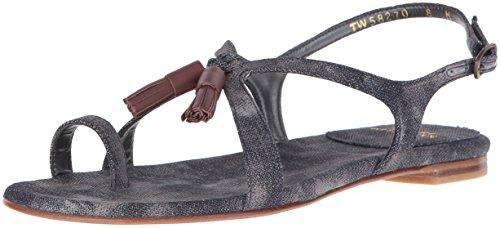 Sandal Navy Stuart Flapper Weitzman Women's Ring Toe w7XHAq