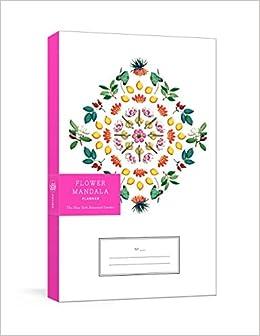 amazon flower mandala planner new york botanical garden the