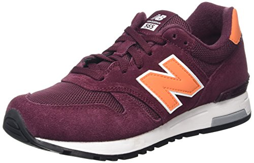 New Balance 565, Zapatillas de Running para Hombre Multicolor (Burgundy/Orange)