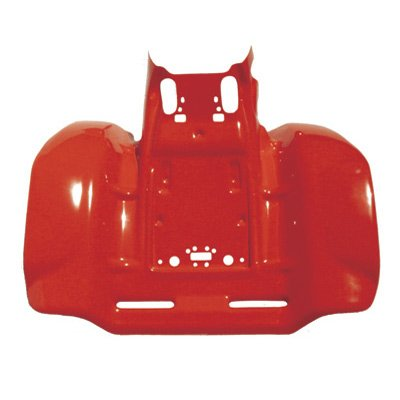 Maier Rear Fender Red for Honda TRX 250R FOURTRAX 1986-1989 Maier Rear Fender
