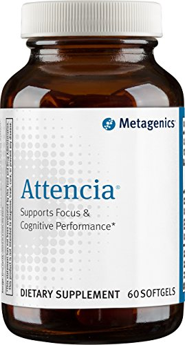 Metagenics Attencia Softgels, 60 Count For Sale