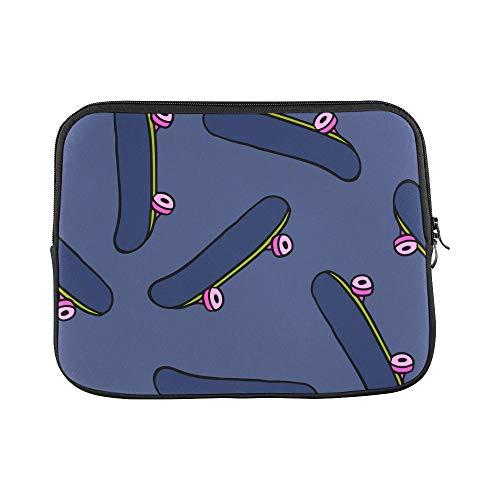 Design Custom Skateboarding Teenager Handsome Match Sleeve Soft Laptop Case Bag Pouch Skin for MacBook Air 11