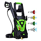PowRyte Elite 3800 PSI 2.80 GPM Electric Pressure Washer, Electric Power Washer with 4 Quick-Connect Spray Tips