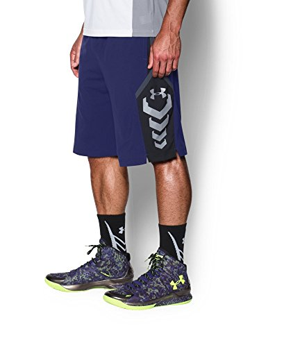 Under Armour Men's SC30 Triple Threat Shorts X-Small EUROPA PURPLE