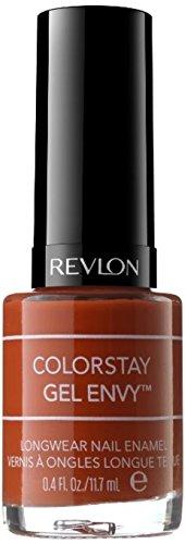 Revlon Colorstay Gel Envy Longwear Nail Enamel [630] Long Shot 0.4 oz (Pack of 4)