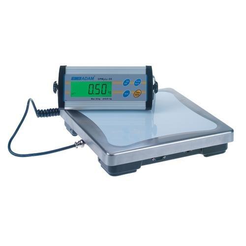 Adam Equipment CPWplus 35 110V Bench Scale, 75 lb./35 kg Capacity x 0.02 lb./10 g Readability, 110V by Adam Equipment