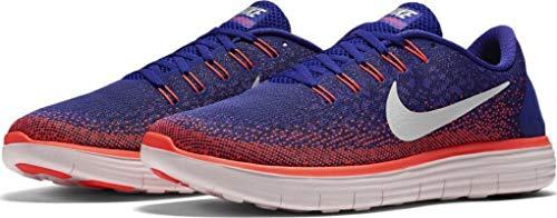 Nike Mens Free Rn Distance Running Shoe (10, Purple/Orange/White)