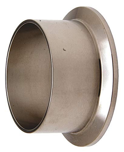 (Dixon Valve & Coupling L14AM7-G200 Stainless Steel 304 Sanitary Fitting, Long Weld Clamp Ferrule, 2