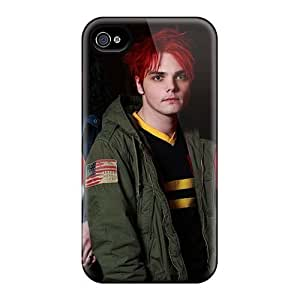 Protector Cell-phone Hard Covers For Iphone 4/4s With Support Your Personal Customized Stylish My Chemical Romance Band Pictures RitaSokul