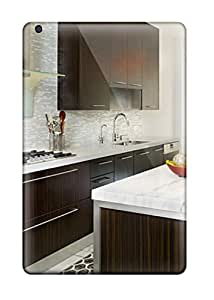 Ipad Case - Tpu Case Protective For Ipad Mini/mini 2- Glass Tile Backsplash Glass Hood Define Steel Contemporary Kitchen