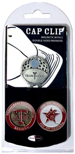 NCAA Texas A&M Aggies Cap Clip With 2 Golf Ball Markers - Texas A&m Aggies Golf