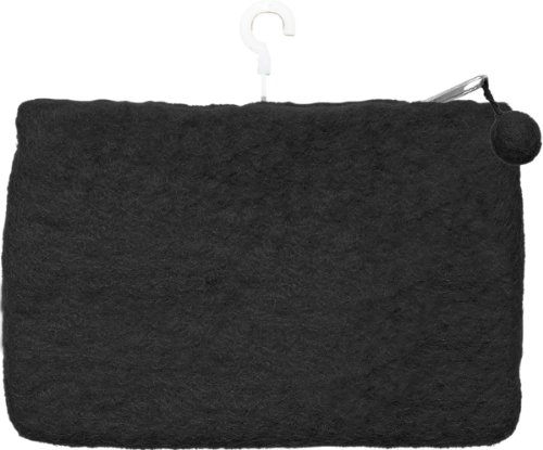 Dimensions Feltworks Mini Purse, 6 by 4 by 1/2-Inch, Black ()