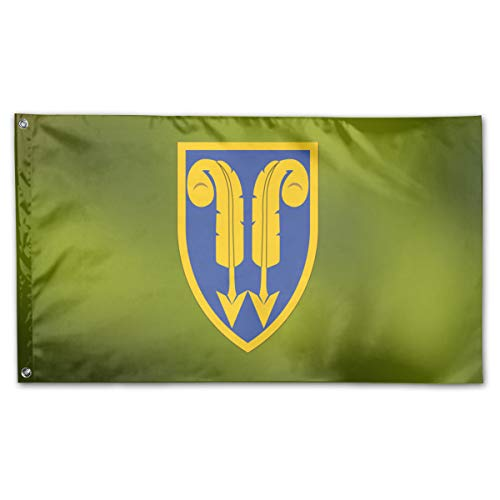 (BOUFLAGON 22nd Support Command 3x5 Ft Flag - Vivid Color - Tea Party Flags )
