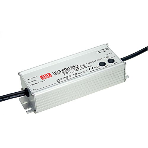 Mean Well HLG-40H-24A 24V 1.67A Power Supply LED Driver Water & Dust-proof