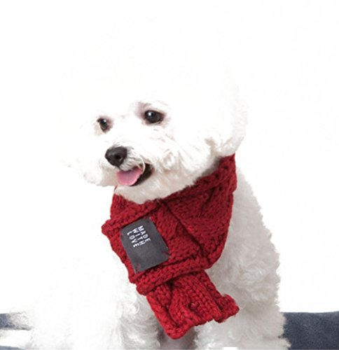 Christmas Uniquorn Pet Products Autumn And Winter New Cute Scarves Thick Warm Dog Fur Wool Scarves Pet Accessories (Dog Costumes Halloween Canada)