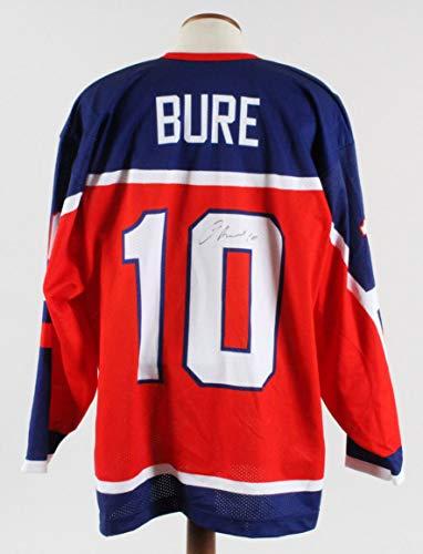 (Pavel Bure Signed Jersey Russian Hockey Team - COA JSA)