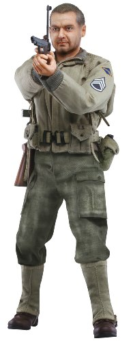 "Dragon Models 1/6 ""Mickey"" (Sergeant) - US Ranger Sergeant, 2nd Ranger Battalion, France 1944 (Life-Like Sculpts) Cyber Hobby"