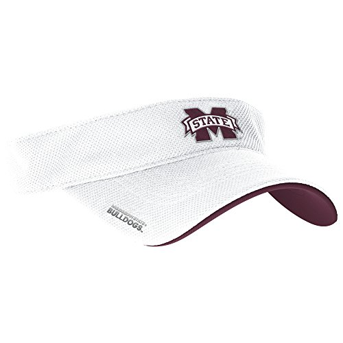 adidas NCAA Mississippi State Bulldogs Men's Spring Game Visor, One Size, - Visor College