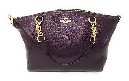 Purple Coach Handbag - 6
