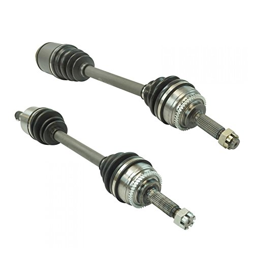 Front CV Axle Shaft Pair LH Driver RH Passenger Sides for Sebring Stratus Coupe ()