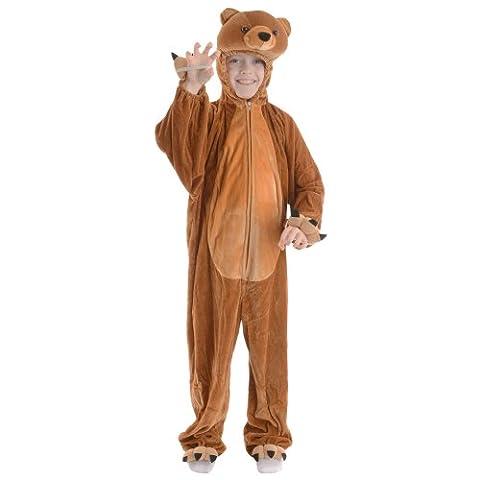 Wicked Costumes Kids Animal Boogie Woogie Bear Fancy Dress Costume M